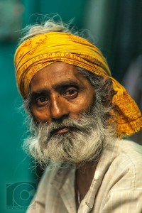 Indian Man (Not) Smoking (alt medium)