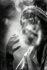 Indian Man Smoking (Alt B&W medium) i-vTwjDLd-M