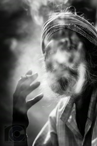 Indian Man Smoking (Alt B&W medium) i-vTwjDLd-M