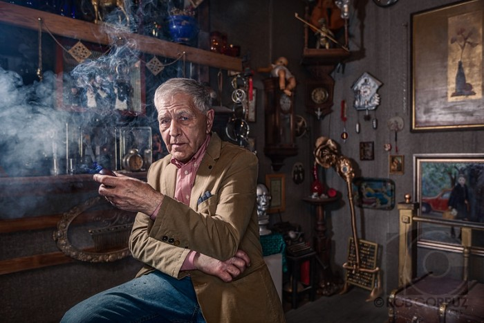 VALERY IN HIS STUDIO - Moscow, Russia